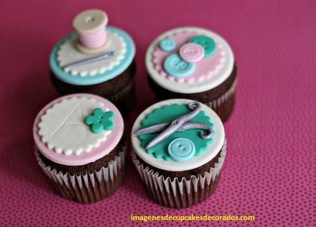 como decorar un cupcake con fondant hacer