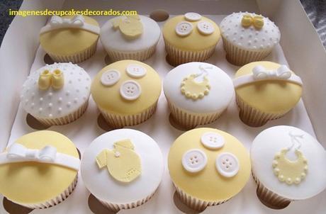 como decorar un cupcake con fondant amor