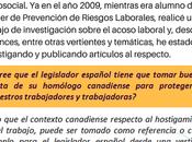 Entrevista: España frente Acoso Laboral. estudio comparativo Canada