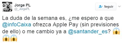 ¿Por qué los clientes de CaixaBank, S.A. siguen sin Apple Pay?