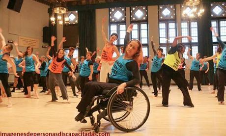 imagenes de la discapacidad fisica bailarines