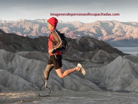 imagenes de la discapacidad fisica corredor