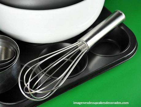 materiales para preparar cupcakes ingredientes