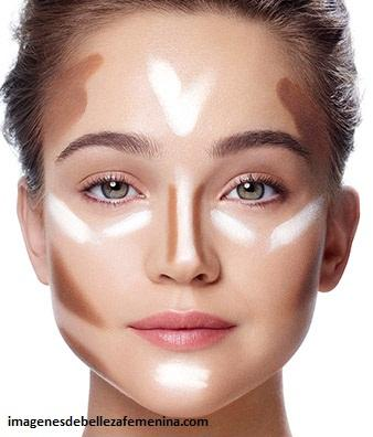 imagenes de como maquillarse el rostro natural