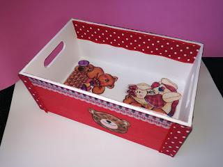 Como decorar una caja de madera usando pintura chalk pai Paperblog