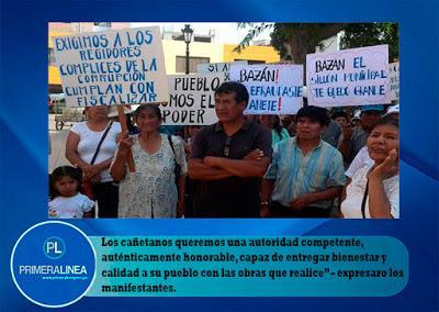 PROTESTAN CONTRA SUPUESTA DESCOMPOSICIÓN MORAL EN EL INTERIOR EN LA MPC…