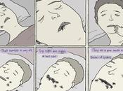 persona come media arañas mientras duerme: doble bulo