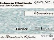 Enero 2.017 Cheque Abundancia