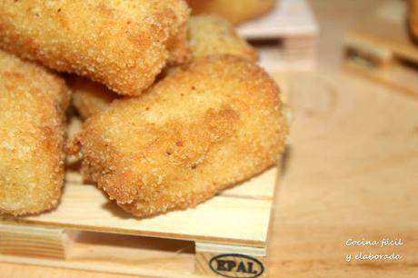 CROQUETAS DE BACON Y QUESO CURADO
