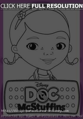 Dibujos Infantiles De Doctora Juguetes Para Colorear Paperblog