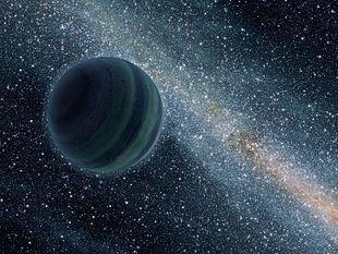 Planetas errantes, los vagabundos del Cosmos.