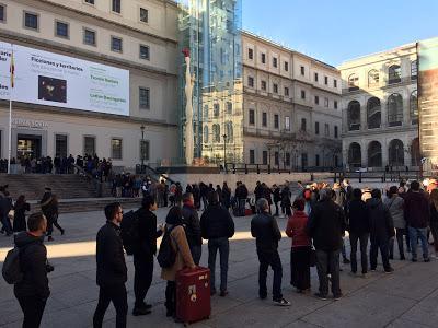 Un total de 3.646.598 personas visitaron el Museo Reina Sofía en 2016