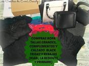 Compras Ropa Tallas grandes, calzado complementos Black Friday Rebajas (KIABI, REDOUTE PRIMARK)