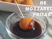 Bolitas mozzarella fritas
