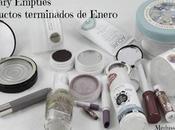 January Empties/ Terminados Enero