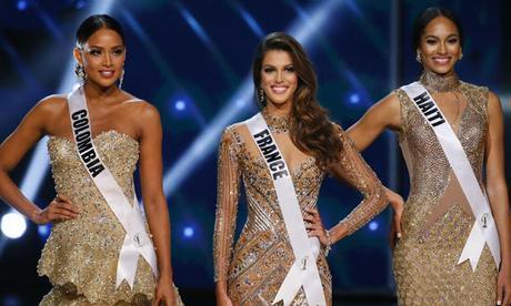 La primera dama de honor de Miss Universo 2017 es Miss Haití