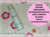 Review Espuma Limpiadora facial Avon Nutra Effects para pieles normales mixtas