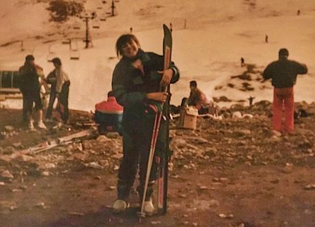 Mis comienzos como esquiadora