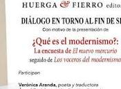 Coloquio torno Modernismo siglo