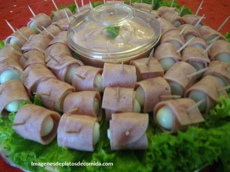 Imagenes de comidas para fiestas que son deliciosas y for Decoraciones faciles y economicas