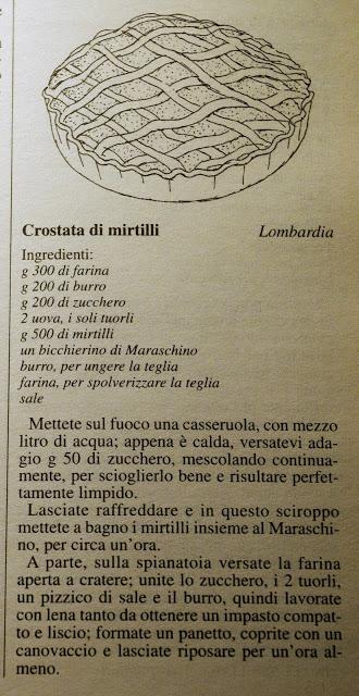 Crostata di Mirtilli - Mini pies de arándanos