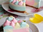 Cheesecake Unicornio arcoiris) Horno