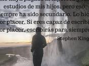 Cómo escritor acojonante según Stephen King