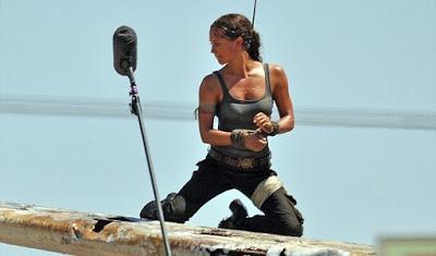Primeras imágenes del rodaje de la película de Tomb Raider