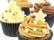 Bellas imagenes cupcakes decorados estrellas faciles