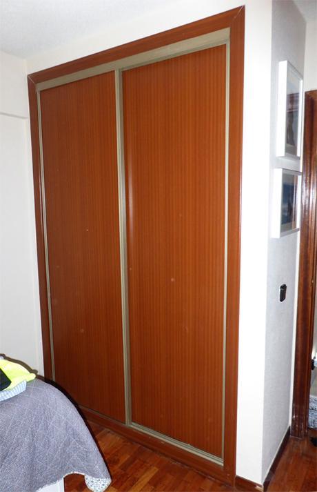Papel para forrar puertas puerta de armario con espejo - Forrar puertas armarios ...