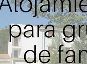 Alojamientos rurales para grupos familias amigos Comunidad Valenciana