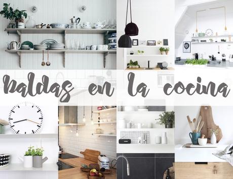 Como decorar con gracia las baldas de una cocina paperblog for Como se cocina la col