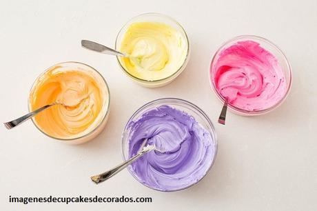 mezcla para decorar cupcakes buttercream