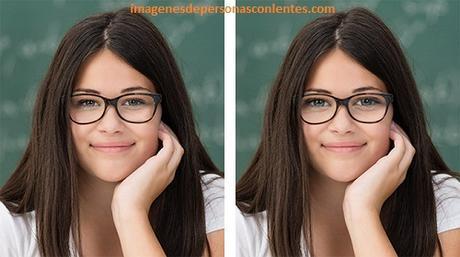 imagenes de mujeres con lentes de aumento chicas