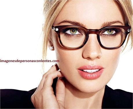 diseño innovador a60d4 34570 Imagenes de mujeres con anteojos opticos de moda o modernos ...