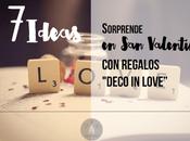 """Sorprende Valentín regalos """"deco love"""""""