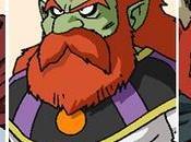 Información nuevos personajes DRAGON BALL SUPER