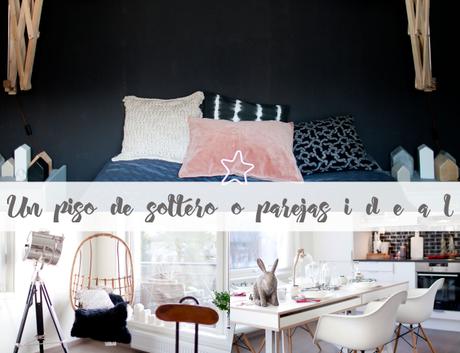 Una idea bonita para decorar un piso soltero o en pareja for Decoracion piso soltero
