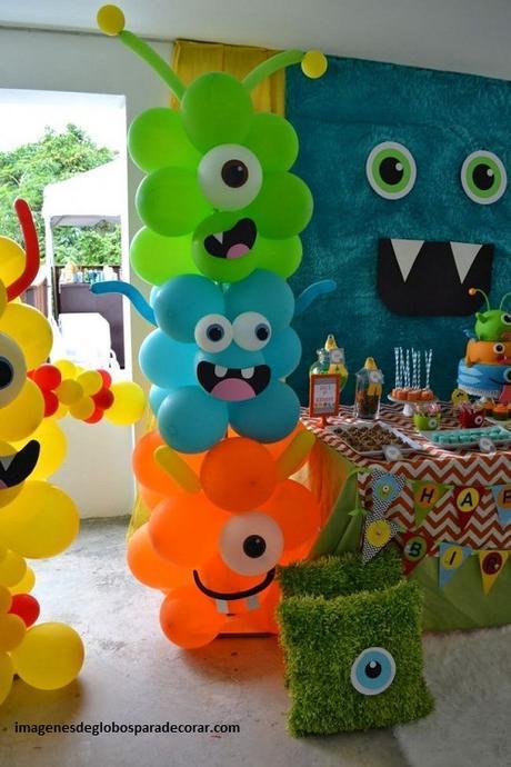 Decoracion De Fiestas Con Globos Para Ninos De Cumpleanos Paperblog - Adornos-globos-economicos