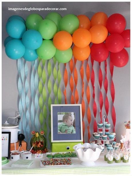 Decoracion de fiestas con globos para ni os de cumplea os - Decoracion fiestas infantiles para ninos ...