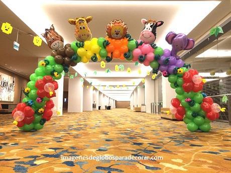 decoracion de fiestas con globos para nios imagenes