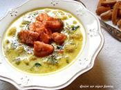 Potaje verduras salmón
