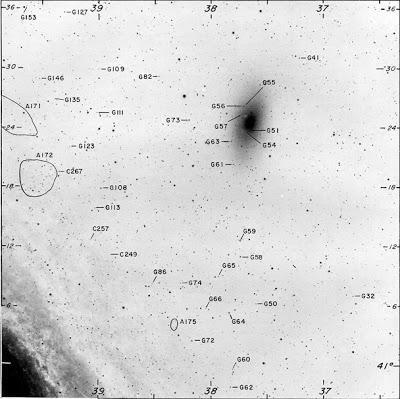 Cúmulos globulares en la galaxia de Andrómeda (I)