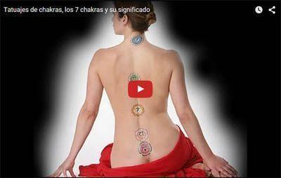 Los tatuajes ¿afectan a los chakras?