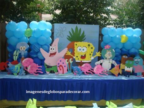 Cuatro Decoraciones Con Adornos Para Fiesta Infantil De Nino Paperblog - Adornos-fiesta-infantil