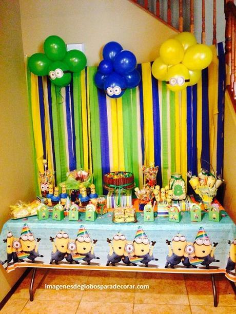 Adornos Para Fiesta Infantil Decoracin Con Globos Para Bodas - Adornos-fiesta-infantil