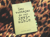 Book Review #12: Ventajas Invisible Stephen Chbosky