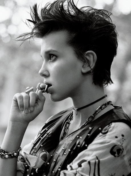 Millie Bobby Brown by Interview Magazine
