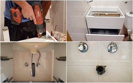 Como instalar un plato de ducha una mampara y un mueble - Como instalar un plato de ducha ...