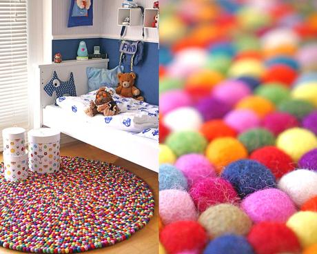 Decoraci n infantil sukhi alfombras artesanales para la - Alfombras habitacion ninos ...